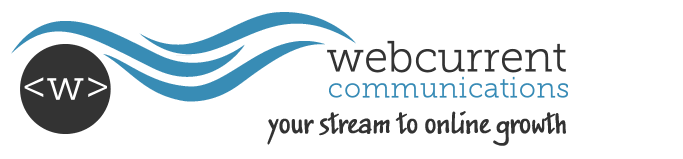 Webcurrent Communications Retina Logo